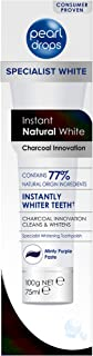 Pearl Drops - Instant Natural White Toothpolish - with Activated Charcoal - 75ml