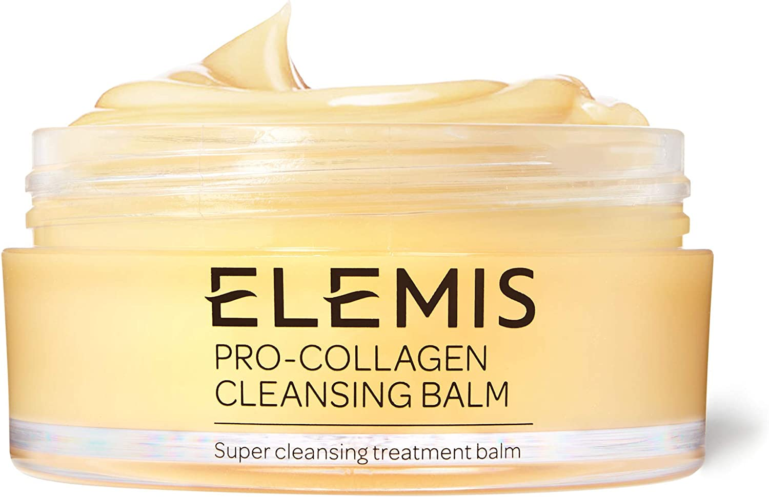 Elemis Pro-Collagen Cleansing Balm, 3-in-1 Deep Cleansing Milk to Nourish & Renew, Facial Cleanser Infused with Rose & 9 Essential Oils, Makeup Remover for a Glowing Complexion, Skin Cleanser 100 g :