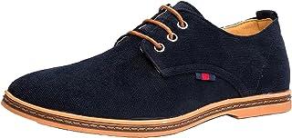 DADAWEN Chaussures de Ville Homme Oxfords à Lacets Derbies Chaussure