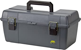 Portable Tool Box, 20-1/4 In. W, Gray: image