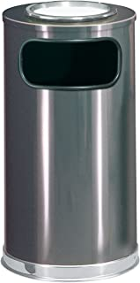 Rubbermaid Commercial Products FGSO16SU20GLANT Ash/Trash Refuse Container, Round,  12 gal