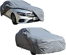 XtremeCoverPro 100% Breathable Car Cover for Select Mercedes E Class Sedan E350 E400 E550 E63 E63S AMG 2006 2007 2008 2009 2010 2011 2012 2013 2014 2015 2016 (Space Gray)