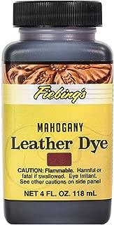 Fiebing's - Leather Dye, Alcohol Based, 4 Fl. Oz. 118 Ml - 27 Colors Mahogany