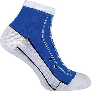 2 Pares Hombre y Mujer Estampados Colores Calcetines Estilo Zapatillas para Regalo