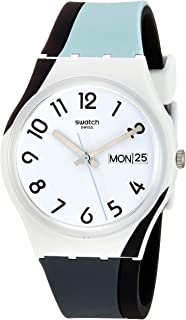 BAU Quartz Silicone Strap, White, 16 Casual Watch (Model: GW711)