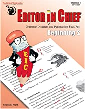 Editor in Chief: Beginning 2