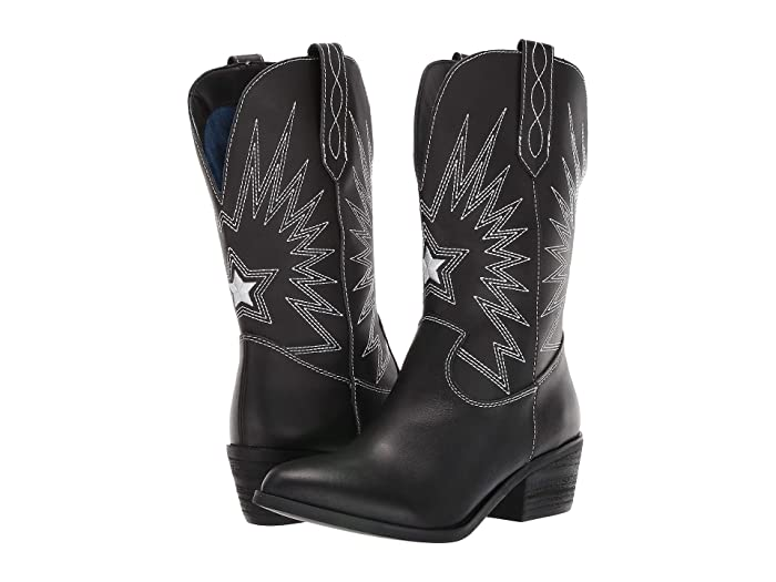 Rockstar  Shoes (Black) Cowboy Boots
