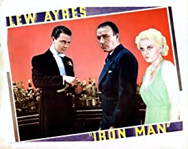 Posterazzi Iron Man Lobbycard from Left: Lew Ayres Robert Armstrong Jean Harlow 1931 Movie Masterprint Poster Print (28 x 22)