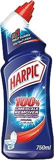 Harpic Toilet Cleaner Liquid Limescale Remover Original, 750ml