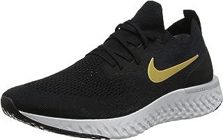 WMNS Epic React Flyknit [AQ0070-013] Women Running Shoes Black/Gold/US 5.5