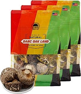 DOL Dried Small Flower Mushroom & Premium Grade Dried Shiitake Mushrooms 實惠大包裝 3lb.