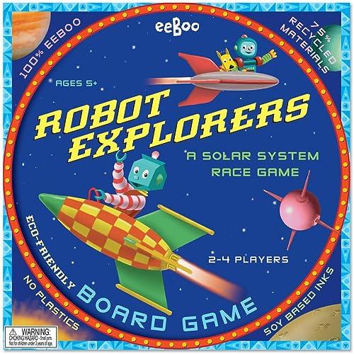 contador genuino Robot Explorers Board Board Board Game  los clientes primero