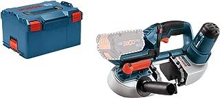 comprar comparacion Bosch Professional GCB 18V-LI Sierra de cinta, sin batería, en L-BOXX, 18 V, Negro, Azul, Rojo, Plata