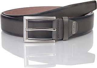 Lindenmann Stretch cinturón de cuero caballeros//señores cinturón textil y vollrindleder,
