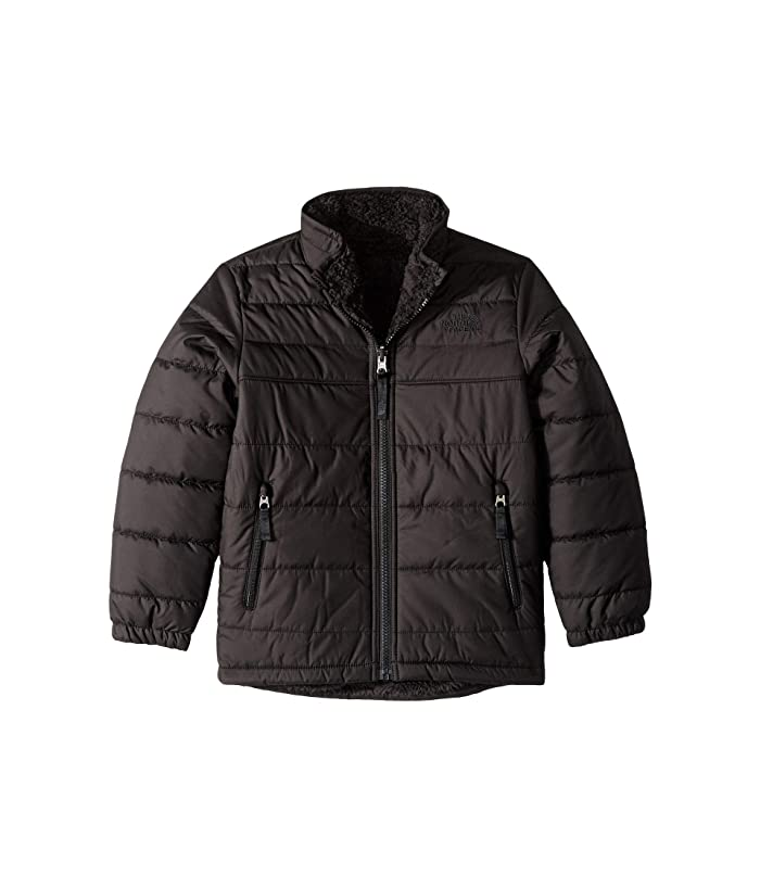 Reversible Mount Chimborazo Jacket (Little Kids/Big Kids) TNF Black/TNF Black