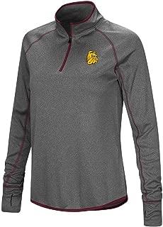 Colosseum Womens Minnesota Duluth Bulldogs Quarter Zip Wind Shirt