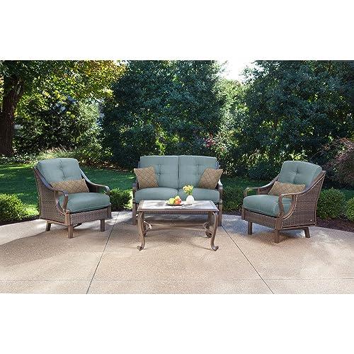 Pleasant Deep Seating Patio Furniture Amazon Com Home Interior And Landscaping Ologienasavecom