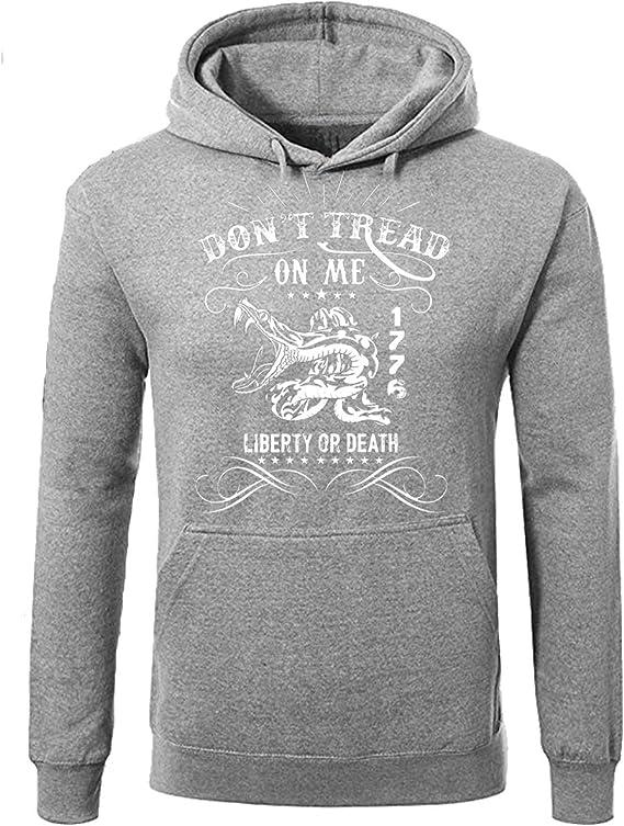 Southern Style crotale Sweat-shirt ne pas marcher sur moi Gadsden USA Sweater