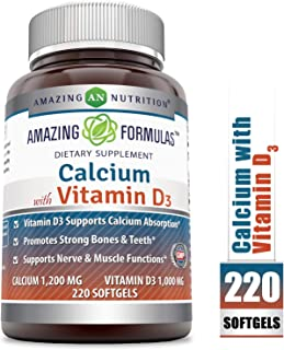 Best calcium 1000 mg with vitamin d 800 Reviews