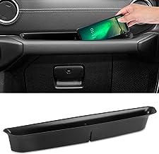 Linkstyle GrabTray Passenger Storage Organizer Grab Tray Handle Accessory Black Box for 2018 2019 JL JLU Jeep Wrangler 2020 Jeep Gladiator JT, Vehicle Passenger Seat Tray Storage