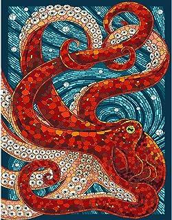 キャンバスアート壁ポスター たこ 海报 绘画 帆布艺术 室内装饰 壁挂 墙壁海报 HD时尚海报