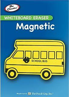 The Pencil Grip Magnetic Whiteboard Eraser, Multi-Colour, 2.34 x 9.23 x 13.47 cm