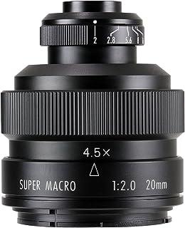 中一光学(ZHONG YI OPITCS) FREEWALKER 20mm F2 SUPER MACRO 4-4.5:1 (ペンタックスKマウント)