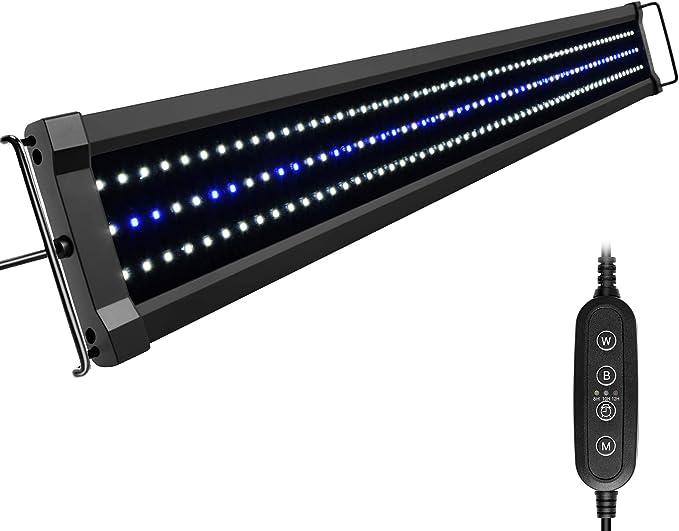286 opinioni per NICREW ClassicLED G2 Lampada Acquario, Plafoniera LED per Acquario, Luce