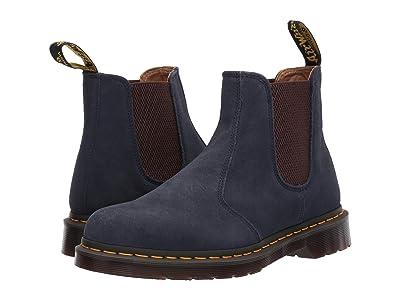 Dr. Martens 2976 Vintage (Ombre Blue Super Hi Suede Waterproof) Boots