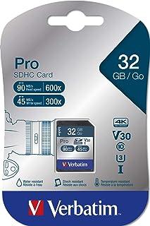 Verbatim 47021 Pro SDHC U3 32GB SD Card