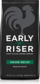 Early Riser House Decaf Ground Coffee, 24 Ounce