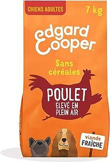 Edgard & Cooper Croquettes Chien Adulte sans Cereales Nourriture Naturelle 7kg Poulet Frais élevé en Plein air, Alimentati...