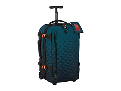 Victorinox VX Touring Wheeled 2-in-1 Carry-On (Dark Teal 1) Carry on Luggage