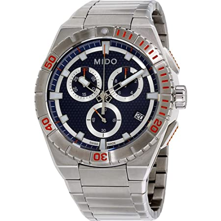 Mido M0234171104100 Men's Ocean Star Captain Bracelet Chrono Watch