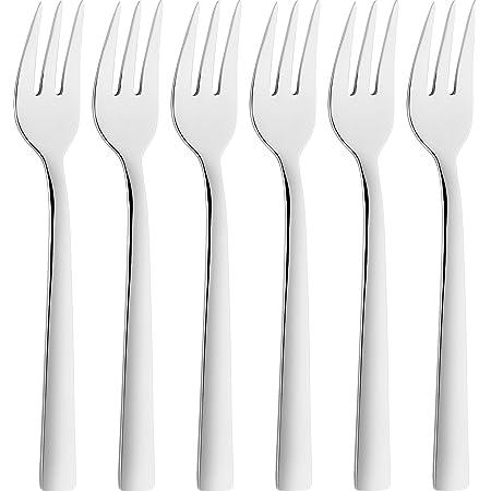 ZWILLING Fourchettes à Gâteau (6 pièces), Acier Inoxydable 18/10, Poli, série Dinner