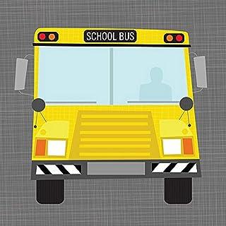 "Oopsy Daisy Fine Art for Kids Ways to Wheel School Bus Canvas Wall Art by Vicky Barone, 10 x 10"""