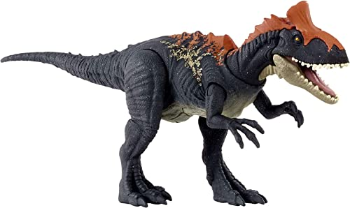 popular Jurassic World Camp Cretaceous popular Sound Strike Cryolophosaurus Medium-size Dinosaur Figure, Strike Action, Sounds, Movable Joints, Ages new arrival 4 Years Old & Up sale