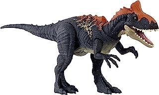 Jurassic World , Cryolophosaurus, Ruge y Ataca, Dinosaurio de Juguete para niños de 4 años en adelante