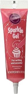 Wilton 704-9998X Pink Sparkle Gel Icing Dispenser