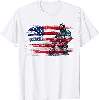 Captain America Stand to Honor RedWhiteBlue T-Shirt