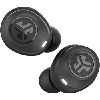 JLab Audio JBuds Air True Wireless Signature Bluetooth Earbuds + Charging Case - Black - IP55 Sweat Resistance - Bluetooth 5.0 Connection - 3 EQ Sound Settings: JLab Signature, Balanced, Bass Boost