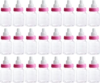 Charmed Baby Bottle Shower Favor,3-Inches, Pink (2 Dozen)