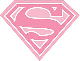Supergirl Sheild Logo Iron On Transfer for T-Shirts & Other Light Color Fabrics #3 Divine Bovinity