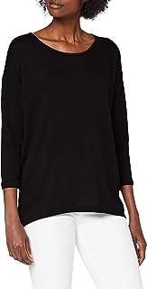 ONLY Damen Langarmshirt Onlelcos 4/5 Solid Top Jrs Noos