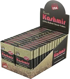 30PC Display - Kashmir Organic Hemp Cigarette Tubes - 6pk