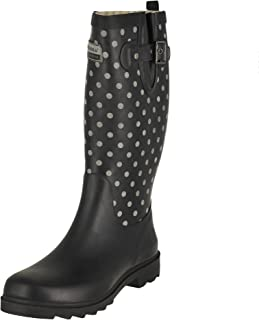 Chooka Women's Retro Reflective Dot Rain Boots