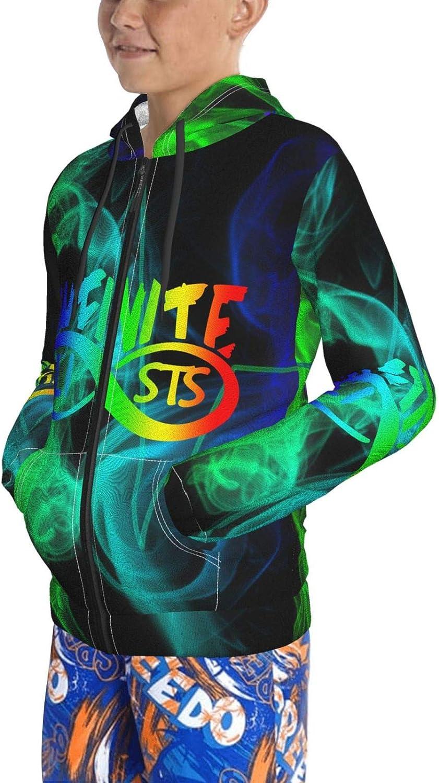 Atressamn Teens Infinite Lists Clothes Hoodie for Teen Boys Girls Cool 3D Print Sweatshirt with Pocket Long Sleeve Hoodies
