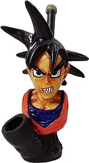 Handmade Dragon Ball Novelty Figurine Hand Pipe (Goku)