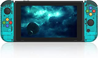 BASSTOP [Update Version] NS Joycon Handheld Controller Housing DIY Replacement Shell Case for Nintendo Switch Joy-Con (L/R...