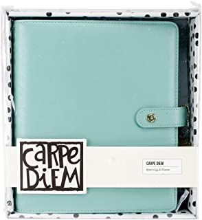 Carpe Diem by Simple Stories A5 Planner Cover - Robins Egg